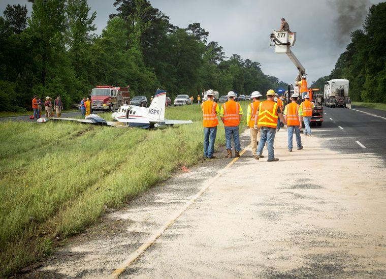 Jet A Lufkin Plane Crash