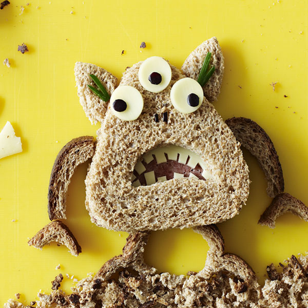 Beware of the lunch monster